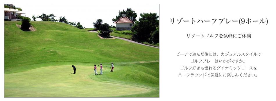 ゴルフハーフ